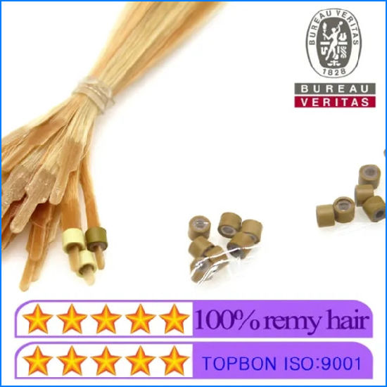 High Quality Virgin Hair Special I-Tip Hair Extensions with Nano Beads pictures & photos