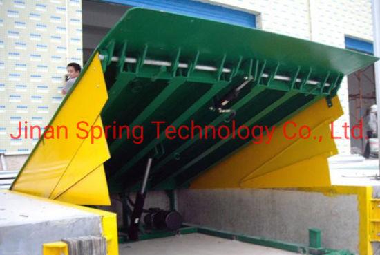 Stationary Hydraulic Dock Leveler /Warehouse Used Loading Dock Yard Ramp