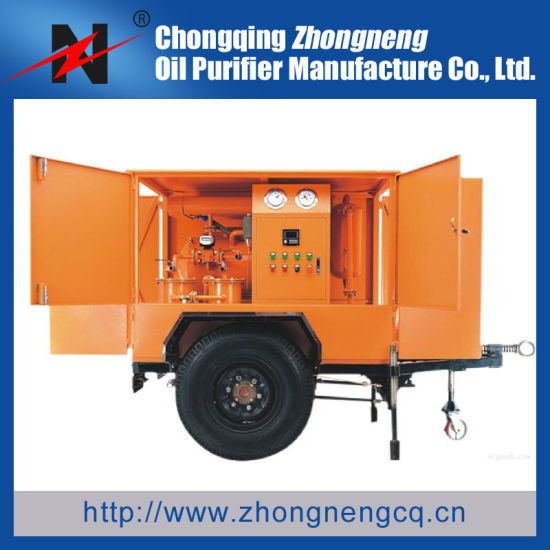 Movable Transformer Oil Purifier/ China Oil Recycling Machine / Best Insulating Oil Filtration