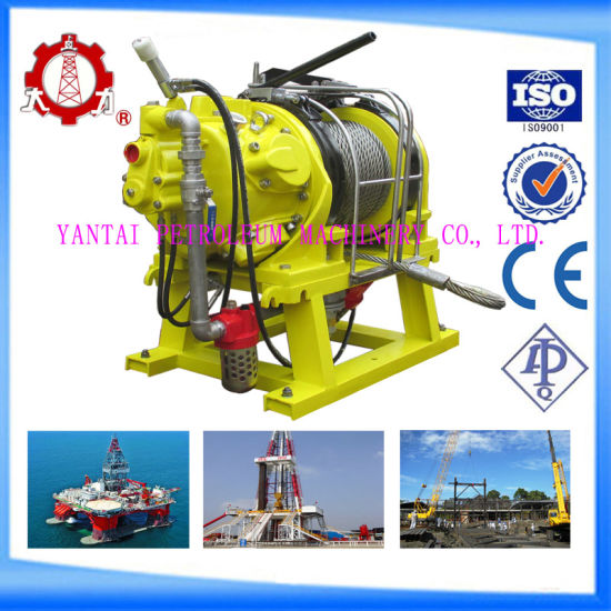 Marine Air Winch Air Capstan for Offshore Applications