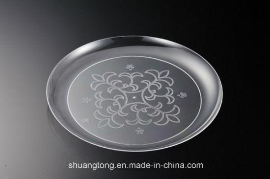 18 X 6 Elegantware Small Clear Plastic Side Plates & Clear Plastic Plates - Best Plate 2018
