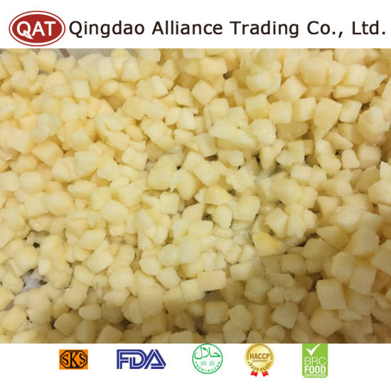 Top Quality Frozen Diced Apple with Good Price pictures & photos