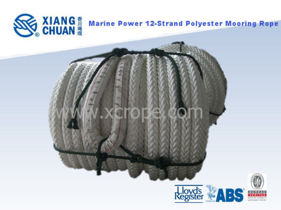 Marine Power 12-Strand Mooring Rope pictures & photos