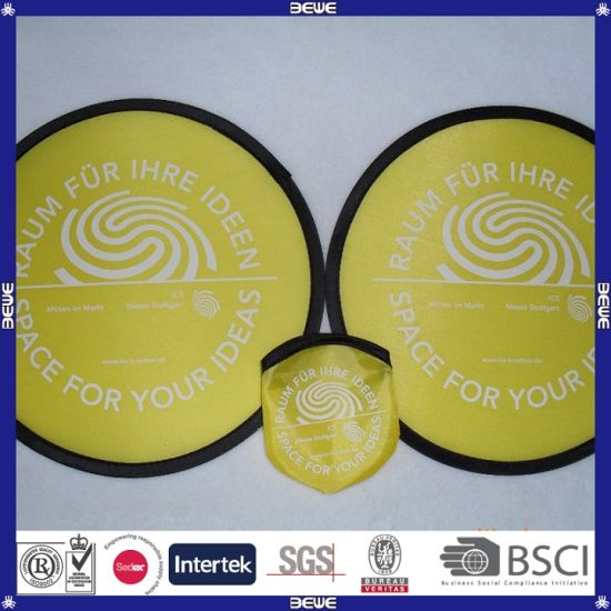 China Supplier Competitive Quality&Price Nylon Foldable Frisbee pictures & photos