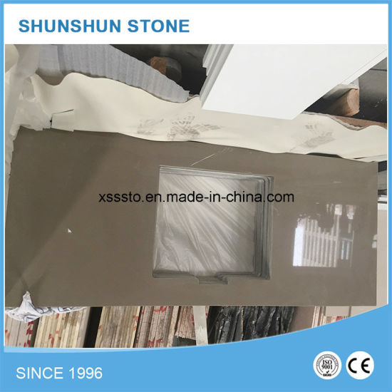 Artificial White Quartz Stone Solid Surface Countertops