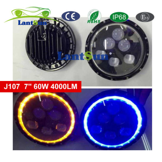 7′′ LED Car Headlight Hilo DRL for Jeep Wrangler Hummer pictures & photos