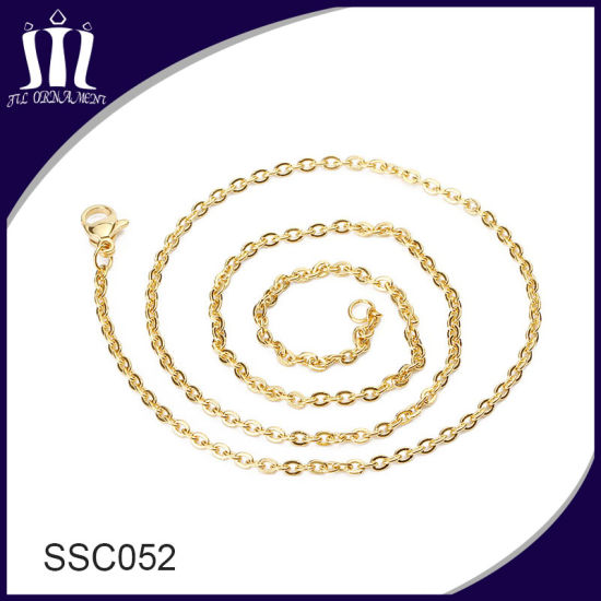 High Quality Custom Metal Chain Energy Pendant O Necklace pictures & photos