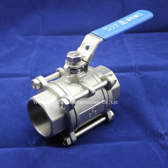 3PC Stainless Steel Ball Valve with NPT /Bsp/BSPT pictures & photos