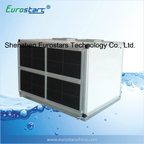 China Water Chiller Connected Vertical Air Handling Unit Fan