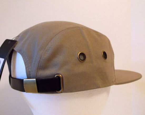 China 2017 Five Panel Cer Strapback Hat Leather Strap Cap 3c3b530a9c64
