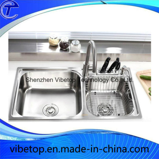 Wholesale Asia/Middle East/Vietnam Country Stainless Steel Kitchen Sinks pictures & photos