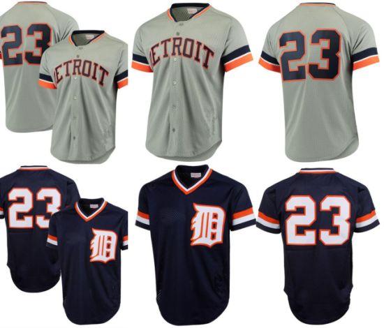 7cdfe6e6b77 Detroit Tigers Kirk Gibson Mitchell Mesh Batting Practice Baseball Jerseys