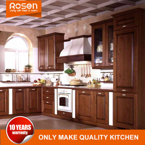 Discount Wood Kitchen Cabinets: China American Sharker Style Wholesale Walnut Solid Wood