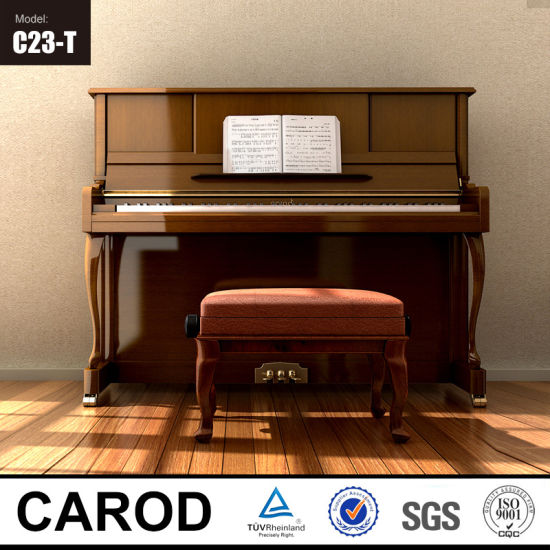 Professional Vertical Piano 123cm pictures & photos