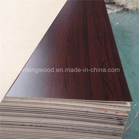 ISO9001: 2008 1220*2440mm Wood Grain Color Single Face/Double Face Melamine HDF