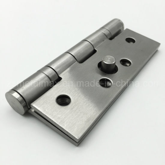 Stainless Steel Dog Bolt Security Metal Door Butt Hinge (154030) pictures & photos