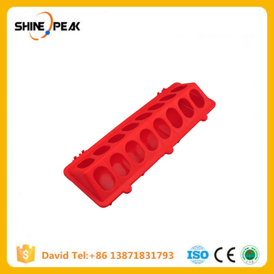 Plastic Flip-Top Poultry Ground Feeder Chicken Poultry Feeder Trough Chicken Farming Tool Pheasant Feeding Bucket Quality Chick pictures & photos