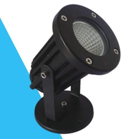 7W IP65 Aluminum LED Garden Spot Light