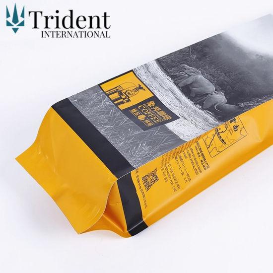Air Valve Plastic Custom Printing Ng Coffee Bag