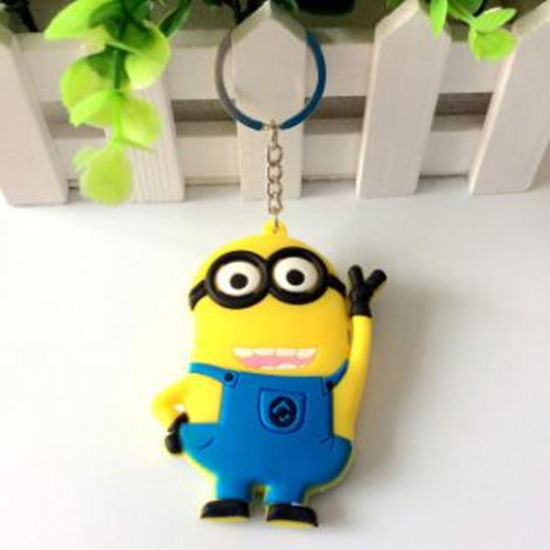 Popularly Fashion Customize Silicone Rubber Keychain From Manufacture pictures & photos