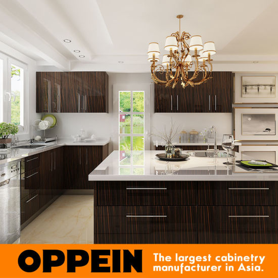 European Kitchen Cabinets Wholesale: China Guangzhou Manufacturer Wood Veneer HPL Wholesale