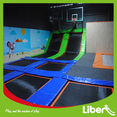 Used Cheap Kids and Adult Foam Pit Indoor Trampolines pictures & photos
