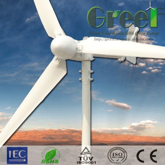 1kw Horizontal Axis Wind Generator System with Controller and Inverter pictures & photos