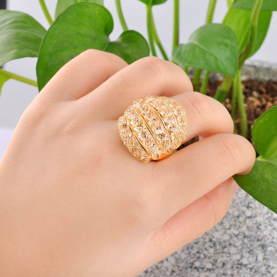 china hot sale fashion jewelry gold finger ring design for
