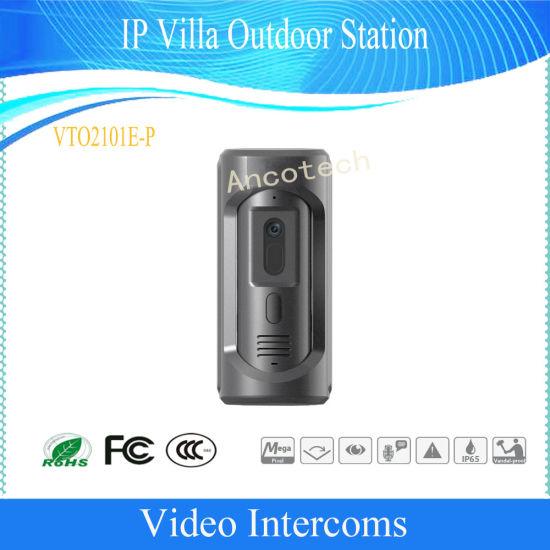 Dahua IP Vto Door Phone Villa Outdoor Station Video Intercom (VTO2101E-P)