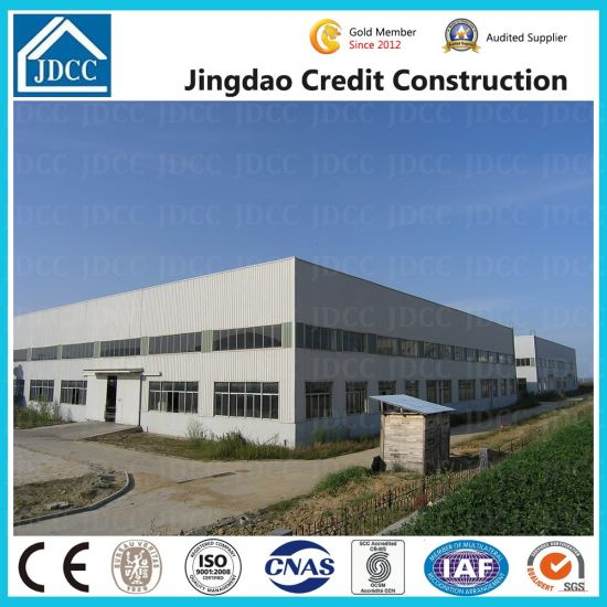 Jdcc Brand High Quality Light Steel Structure Warehouse Building pictures & photos