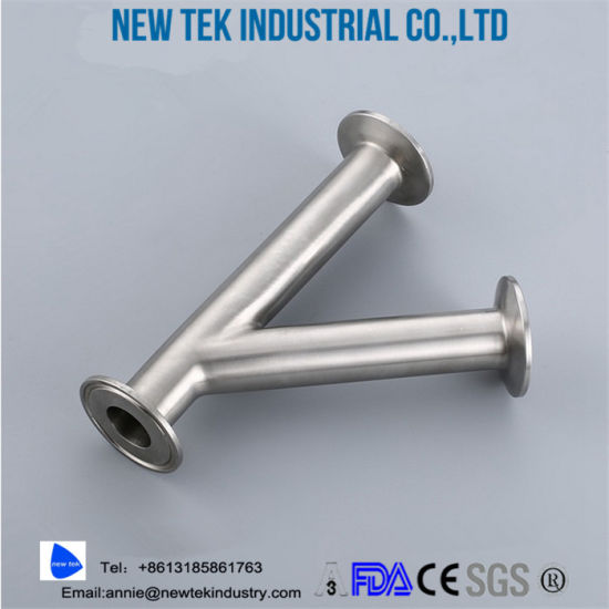 Stainless Steel Sanitary Tri Clamp Wyes True Y pictures & photos