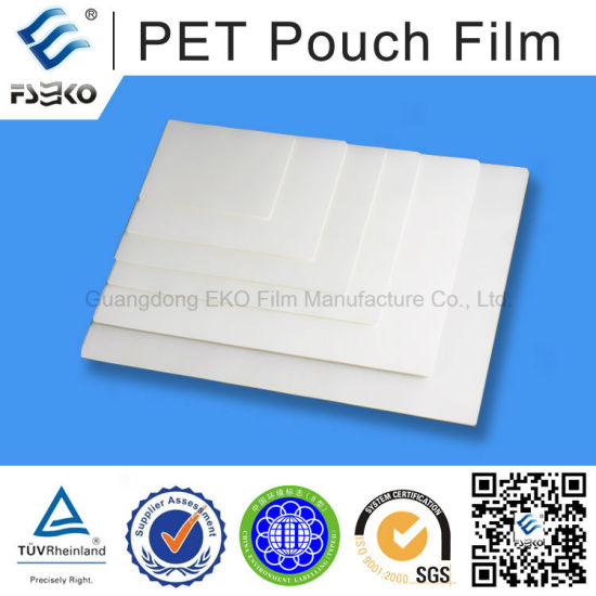 Glossy Pet A4 Pouch Film for Document Laminating pictures & photos