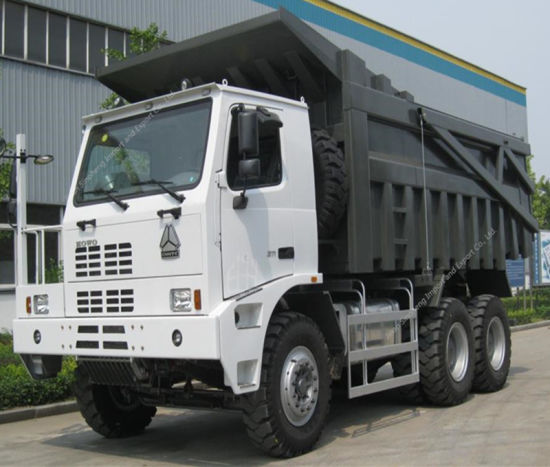 2017 HOWO Mine King Mining Dump Truck for Factory Price