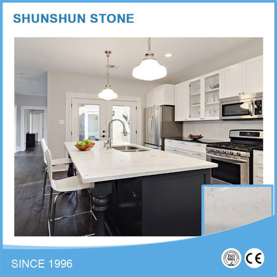 Cheap White Quartz Stone Kitchen Island For Kitchen Design