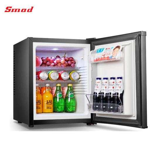 China Hotel Minibars Mini Glass Door Refrigerator With Lock China