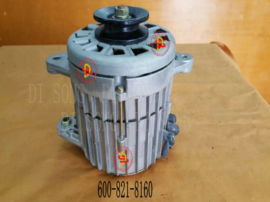 China Komatsu S6d155 Engine Parts, Generator (600-821-8160