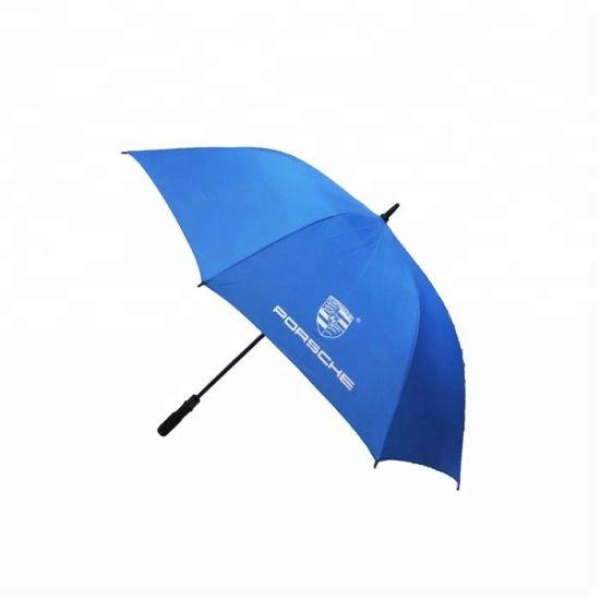 30 Inch Light Blue Fiberglass Golf Umbrella with Logo