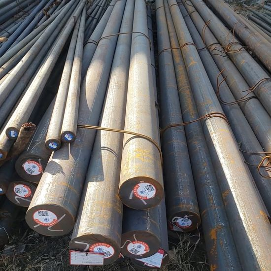 China Sae 1045 1020 Hot Rolled Iron Carbon Steel Round Bars Round Steel Bar China Carbon Round Bar Round Bar
