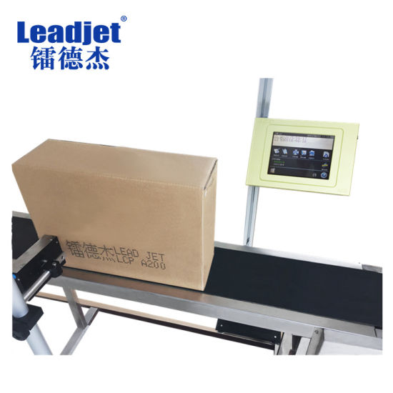 Leadjet Packaging Inkjet Printing Coding 5~60mm Printer Height A200