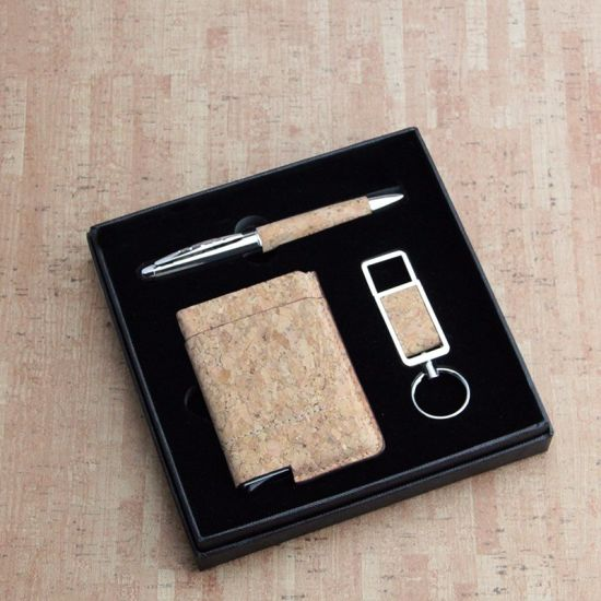 check out 07ad3 85d69 China Fashion Cork Smart Wallet Pop up Credit Card Holder Money Clip ...