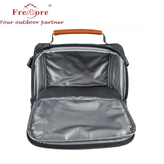 a5c1fdbe5aae98 Insulated Double Casserole Carrier Thermal Lunch Cooler Tote Bag for  Potluck Parties, Picnic, Beach