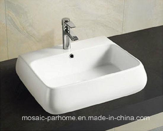 Whole Best Price Sanitary Ware Bathroom Ceramic Wash Basin 5090