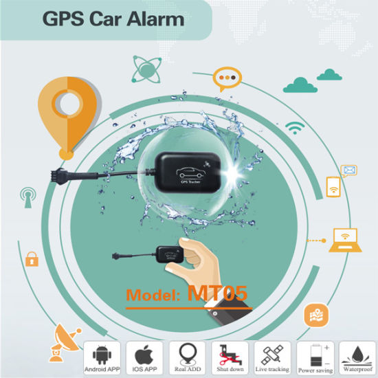 China Waterproof Mini Motorcycle Gps Tracker Mt05 With Power Save