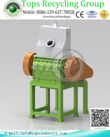 China Rubber Tyre Crushing for Waste Tire Recycle Machine - China