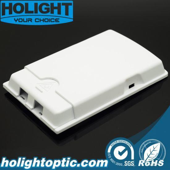 Sc 2 Core Dual Port Fiber Terminal Box Faceplate