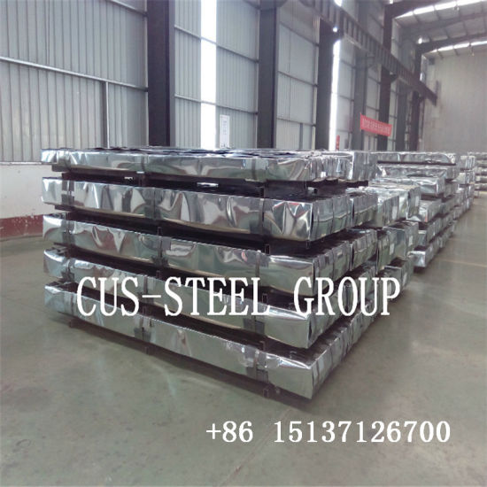 China Zambia Prime Red Colour Corrugated Steel Roofing