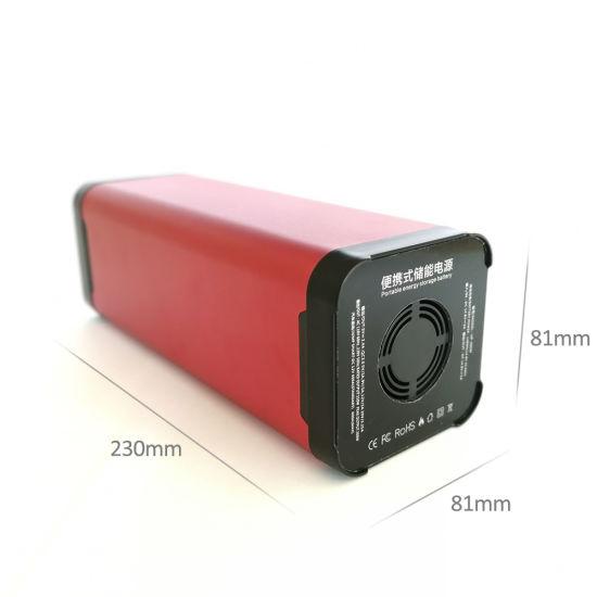 Rechargeable 12V Car Jump Starter Li Polymer Battery Power Bank