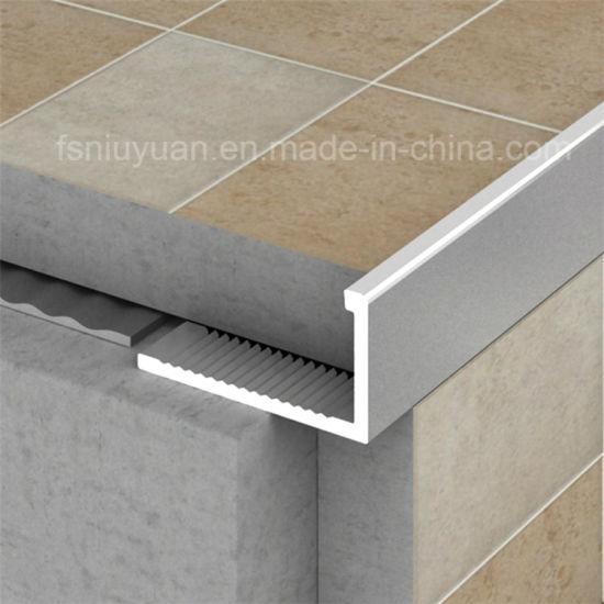 L Shaped Floor Transition Strips Metal