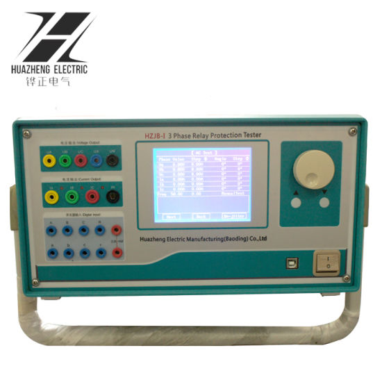 China Advanced Secondary Current Injection Three Phase Relay Test