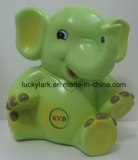 7aadec4a98572 Elephant Money Bank PVC Money Saving Banker Cartoon Coin Box for Kids  pictures & photos